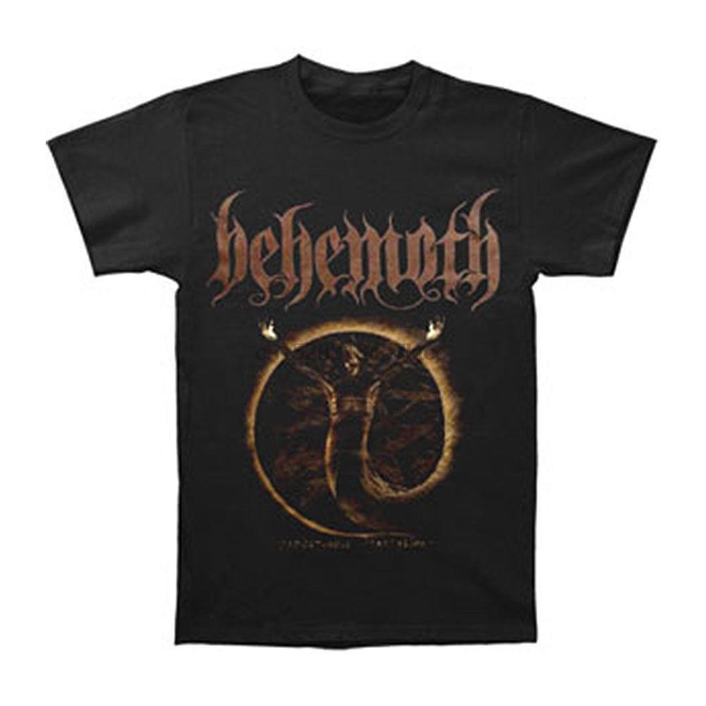 Behemoth para hombre Pandemonic Encantaciones camiseta X-Large Negro manga corta camiseta al por mayor de CasualReasonable