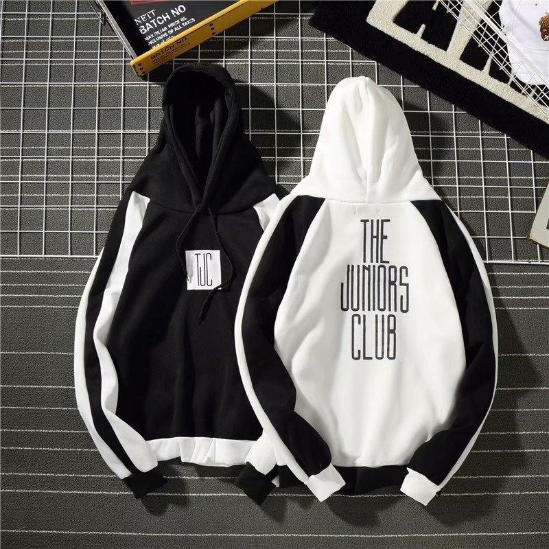 BtLLs балахон с капюшоном корейский студент хоп свободный хип осень стиль пара пуловер пальто пуловер печатных пальто модули моды марки DBZEL