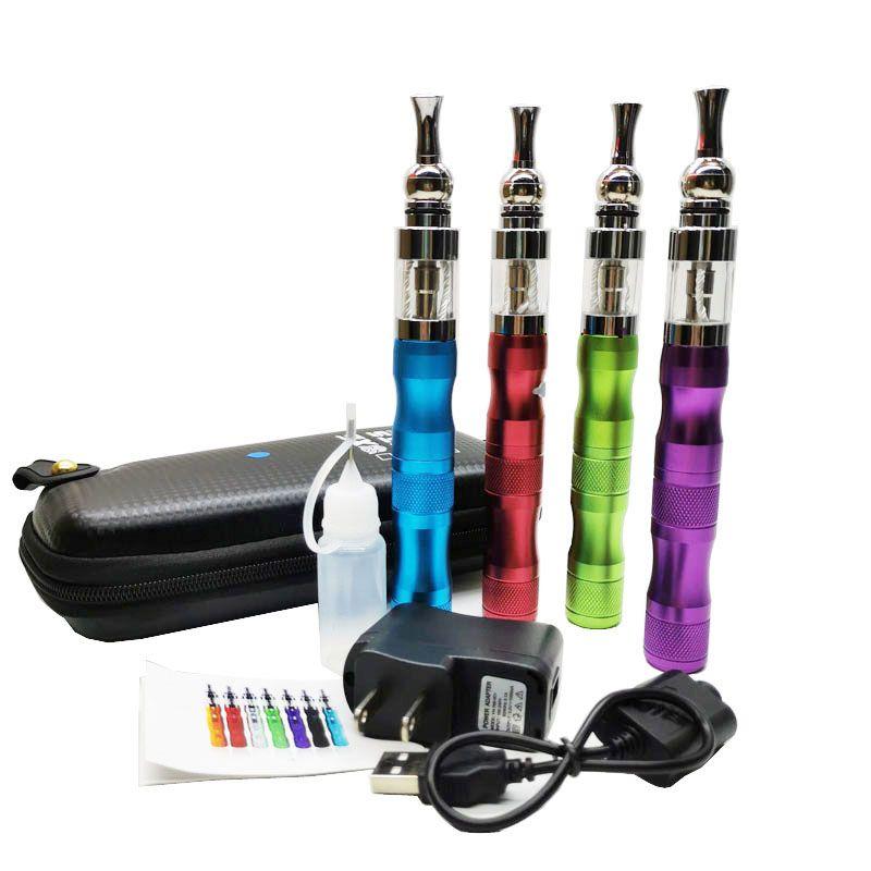 X6 Vape комплект ручка электронной сигареты стартер для электронной жидкости Время кальяна испарителя напряжение 510 батарея 1300mAh 7 цветов молнии случая