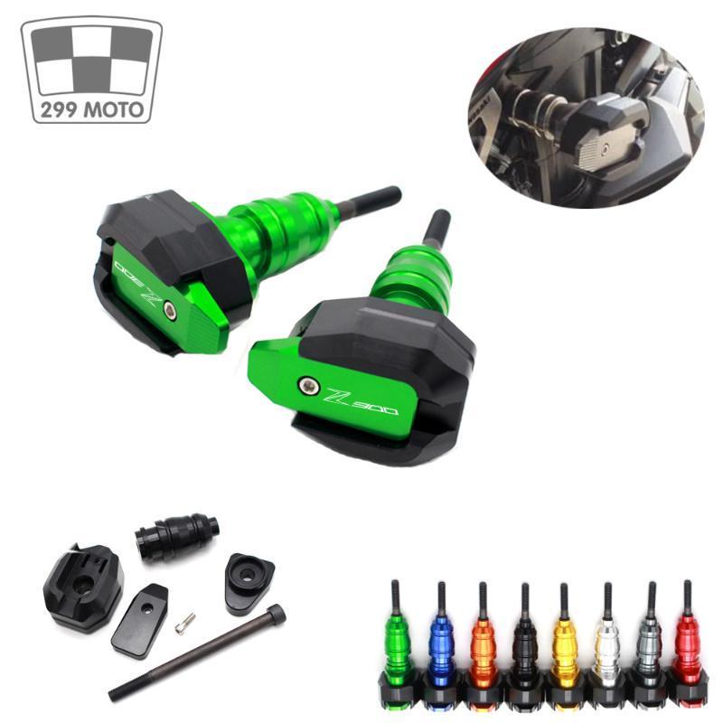 Für NINJA 300R / Z300 2013-2020 Motorrad CNC-Fall-Schutz-Rahmen Verkleidungs Guard Anti-Schutz