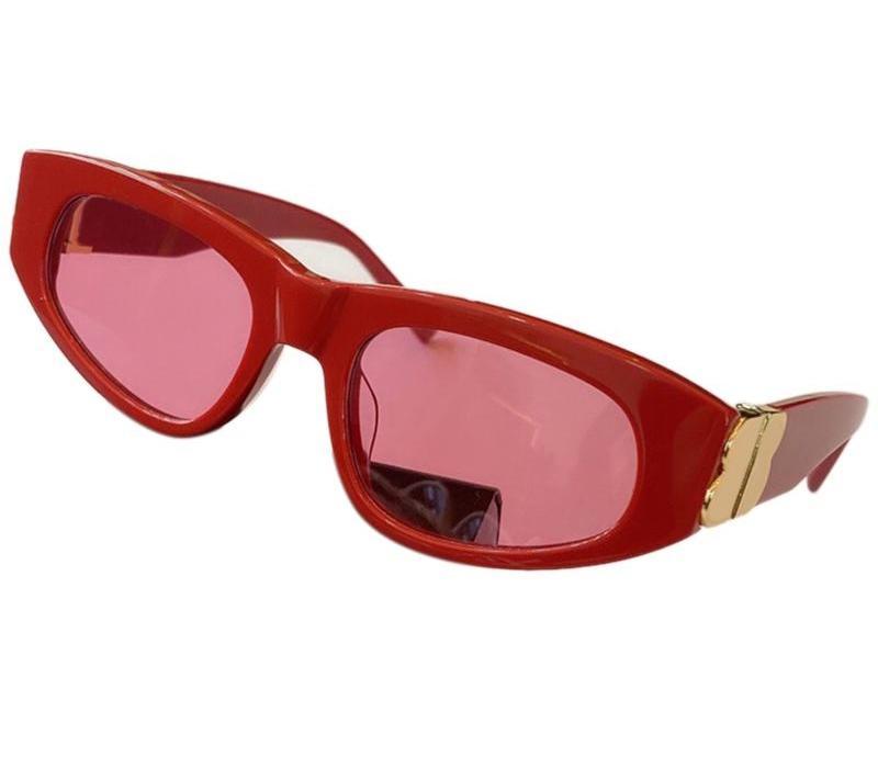 Nouveau Mode Rétro Lunettes de soleil Rectangle Femmes Marque Designer Vintage Cat Eye Lunettes de soleil Femme UV40098