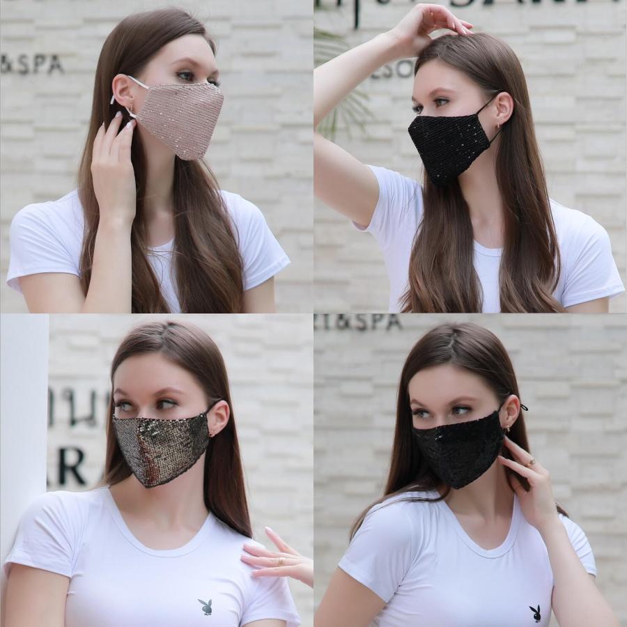 Adulto unisex bambini maschere respiratorie viso Earloop pieghevoli lavabile Bocca Maschere spugna antipolvere Maschera maschere di protezione OPP Bag # 352