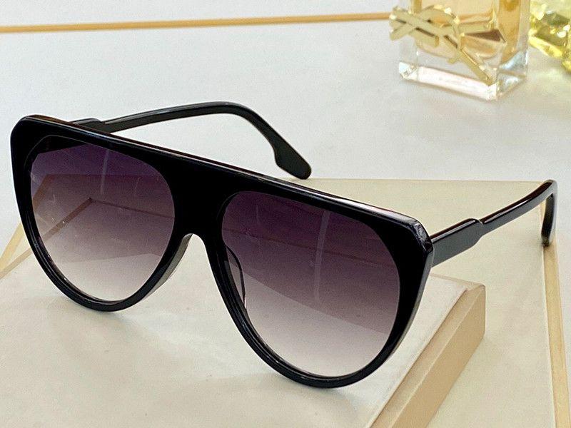 600 النظارات الشمسية للنساء حملق التفاف uv حماية القط العين نموذج إطار كبير الإطار لون مزدوج مع القضية
