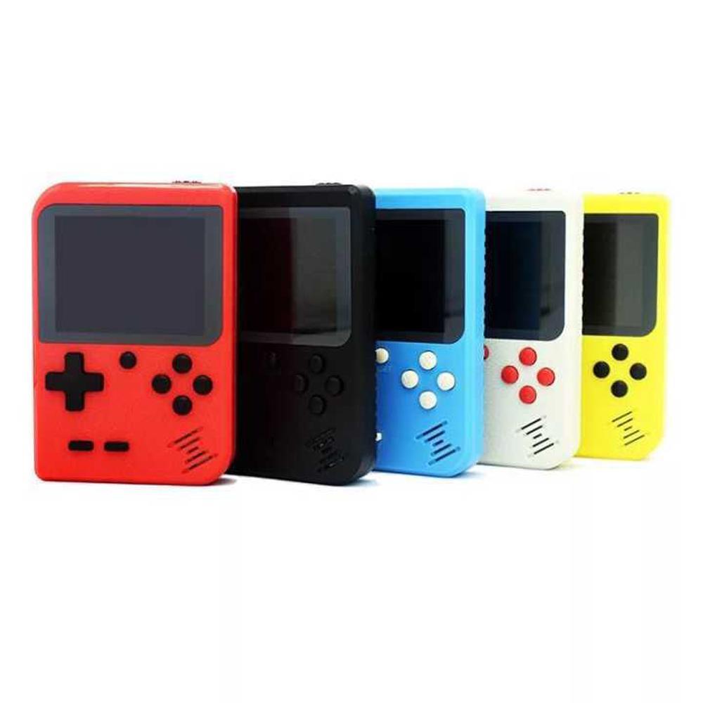 il video portatile portatile console di gioco Retro 8 bit giocatori mini gioco 400 Games 3 in 1 AV GIOCHI Pocket Gameboy Color LCD DHL