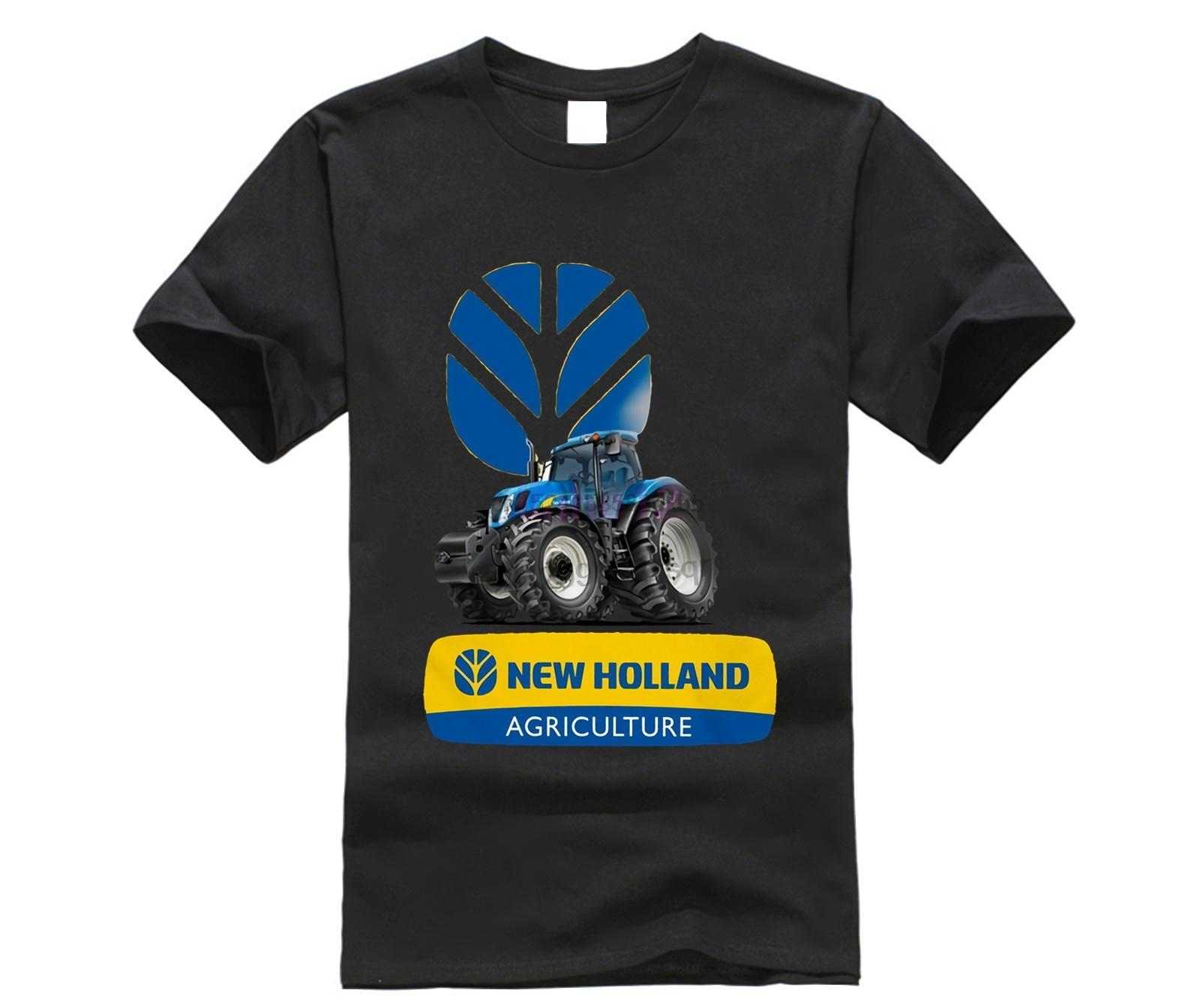 New Holland Tracteur T-shirt homme