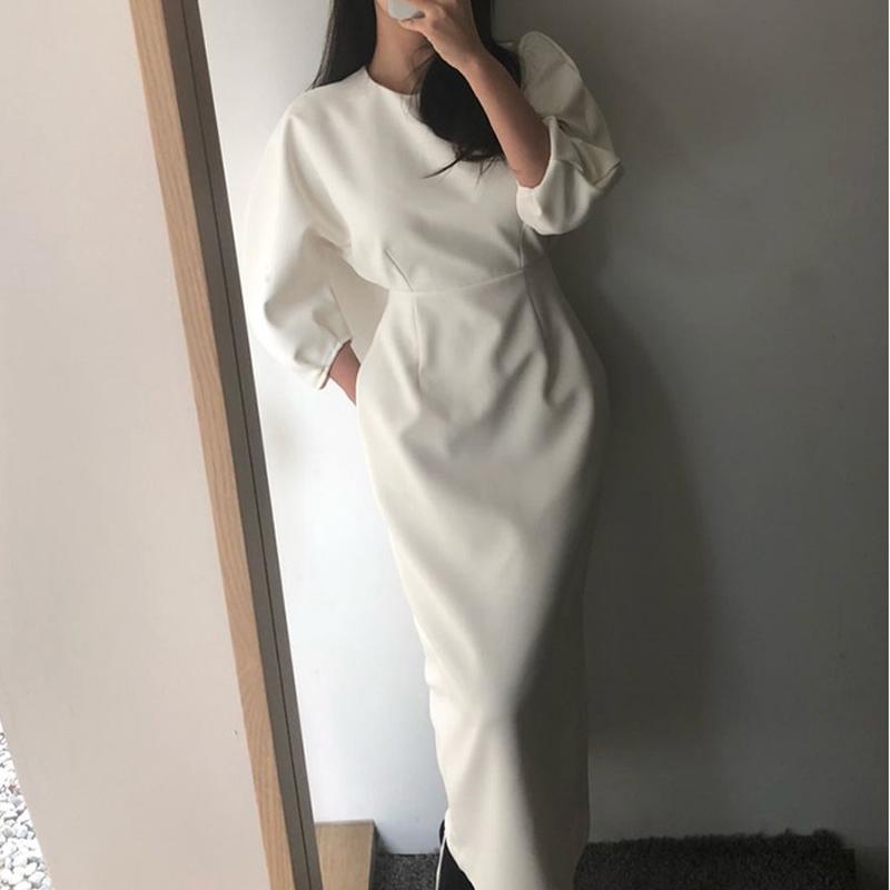 Frauen-Partei-Kleid-elegante lange schlanke Taille Maxi-Kleid