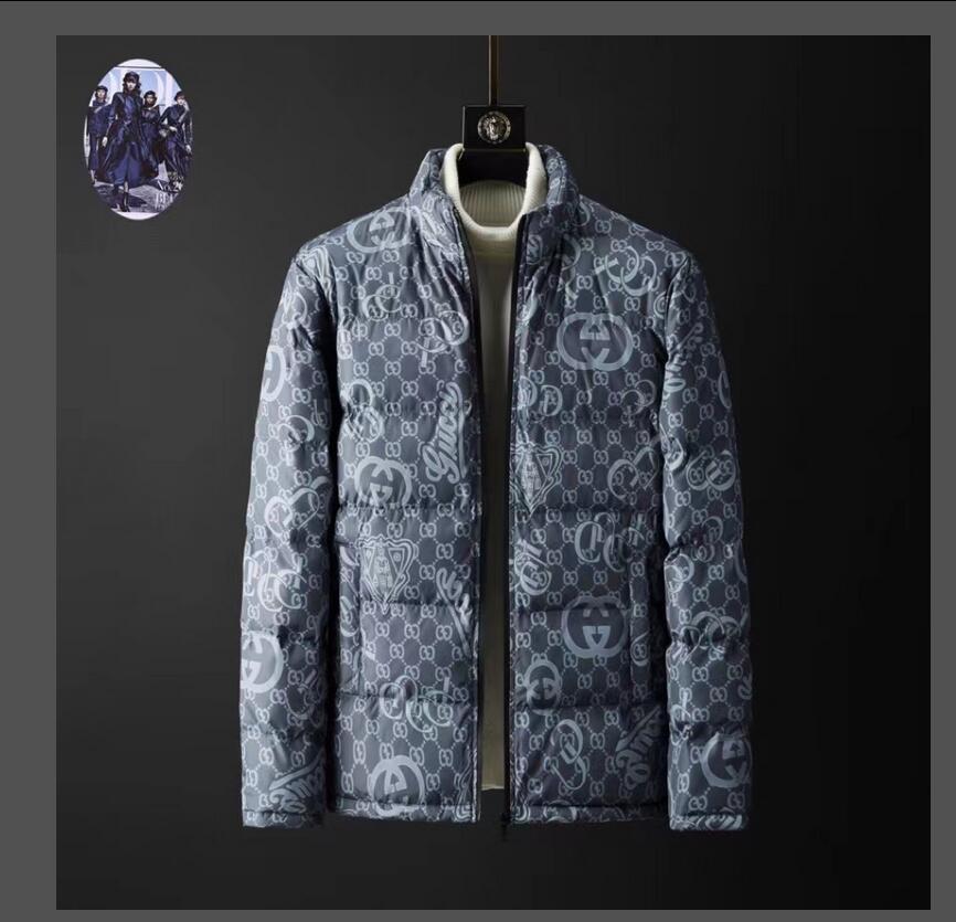 Gros- vêtements en coton rembourré d'hiver d'homme 2020 New Black ultra léger vers le bas veste pour hommes Parka Coton Manteau Outwear Vêtements Homme