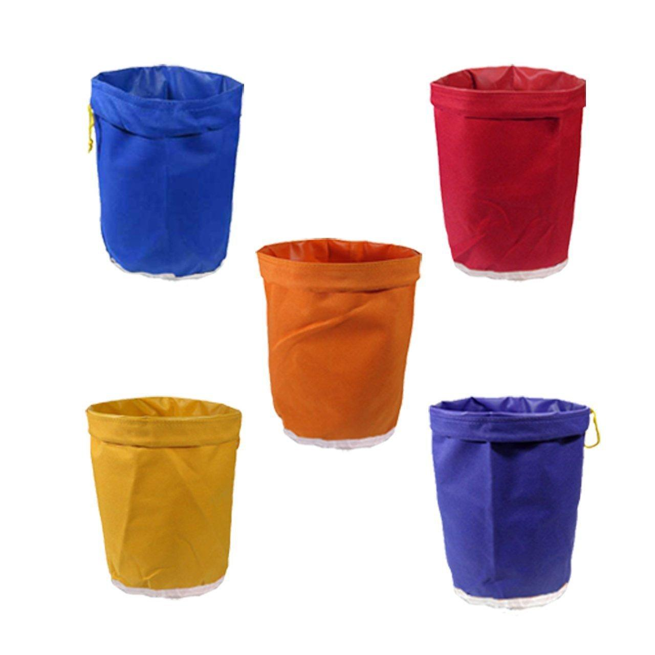 5 Gallon Filter Bubble Bag Set Waterproof Garden Grow Bag Hash Herbal Ice Essence Extractor Kit Extraction Bag Oxford