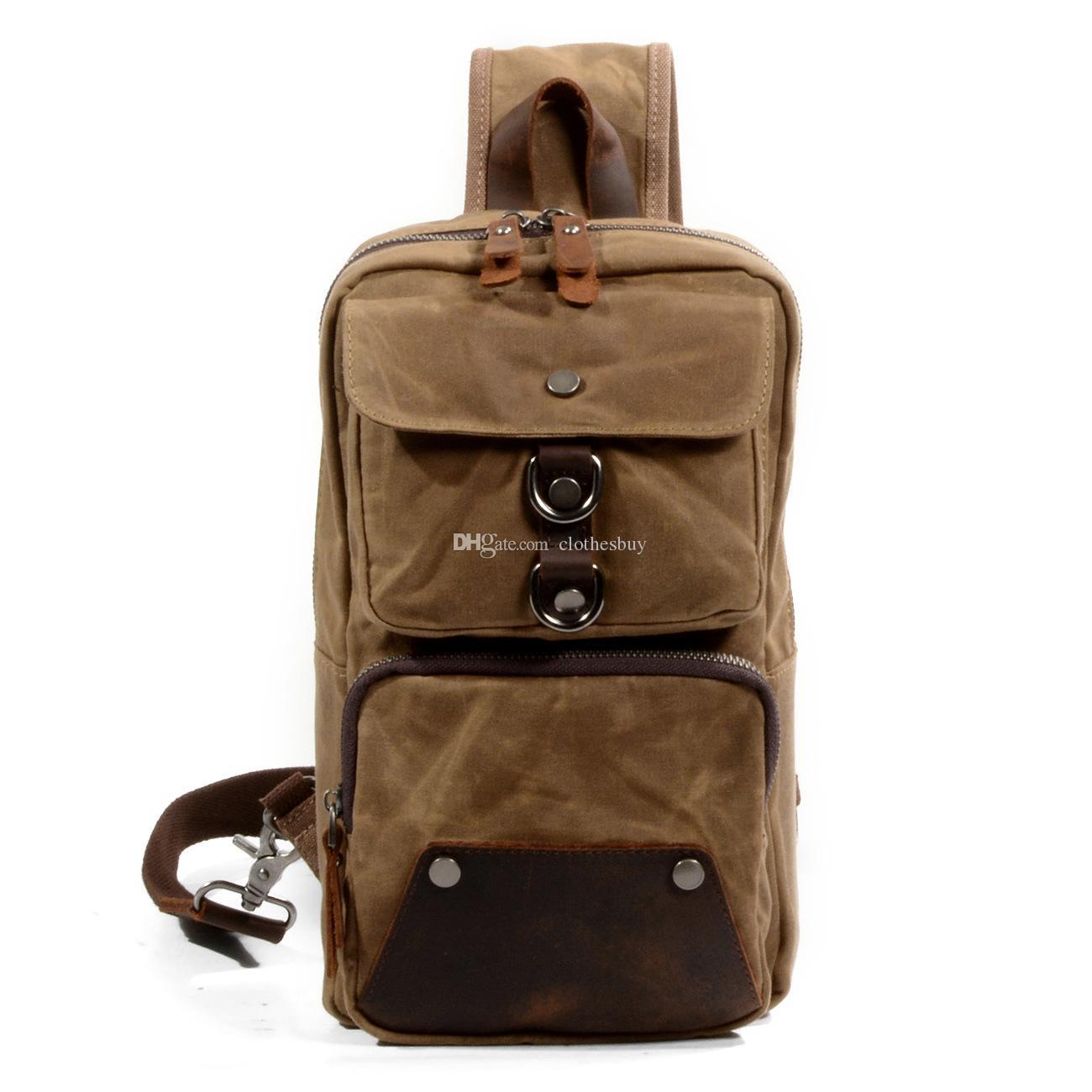 رجل صغير قماش واحدة حقيبة الكتف الأوروبية والأمريكية رسول قفطان حقيبة مدرسية حقيبة الصدر الرياضية في الهواء الطلق حقيبة الترفيه