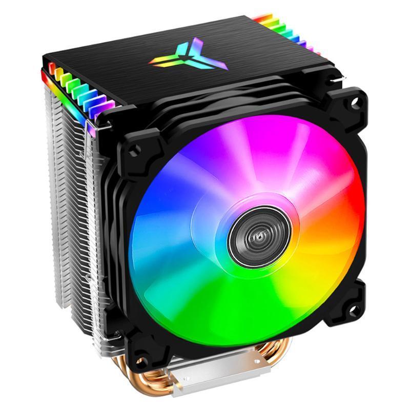 Jonsbo CR1400 Tower Тип процессора Cooler Вентилятор 4 Pure Copper Тепловые трубы RGB PWM 4pin Охлаждающий вентилятор радиатора для Intel 1151/1155 AMD АМ4