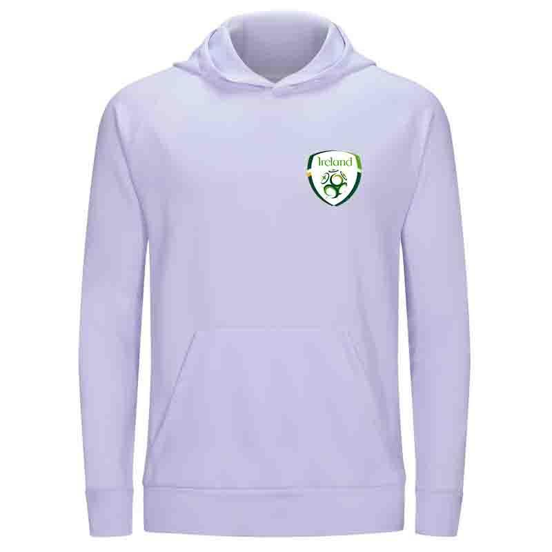 جمهورية أيرلندا F.C الرجال هوديي سترة سوبر لينة مطبوعة سترات كرة القدم يجز في الهواء الطلق شتاء دافئ فيستي المرأة عارضة فساتين