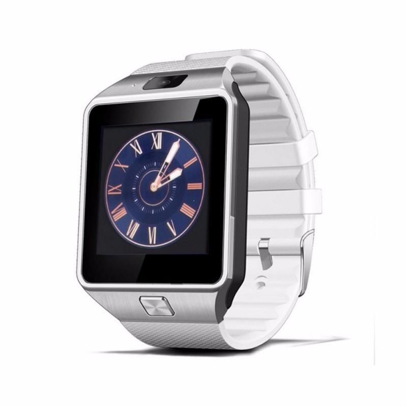 Écran tactile intelligent avec caméra montre dz09 Bluetooth Carte SIM Smartwatch montre-bracelet pour téléphones Android Ios Support multi langue