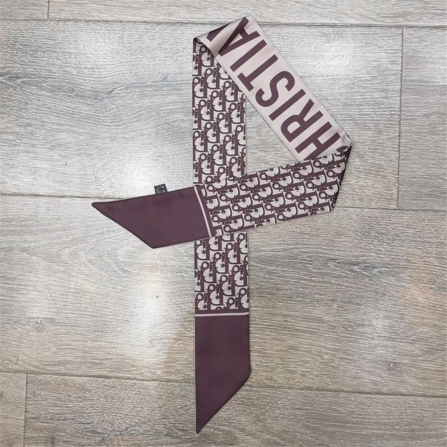 Шелковый шарф Малых лент для женщин Мода Многоцелевой ленты для моды шарф # 550