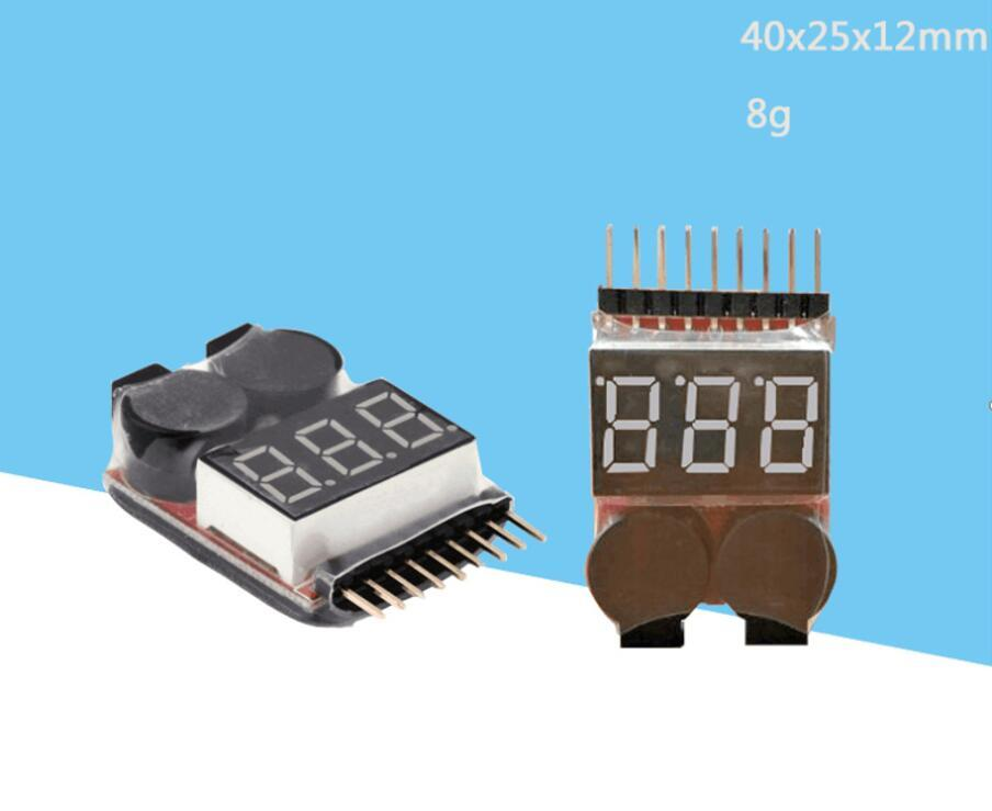 1S-8S BB sound/model airplane lithium battery measuring appliance/power indicator/low-voltage alarm/over-discharge protector/