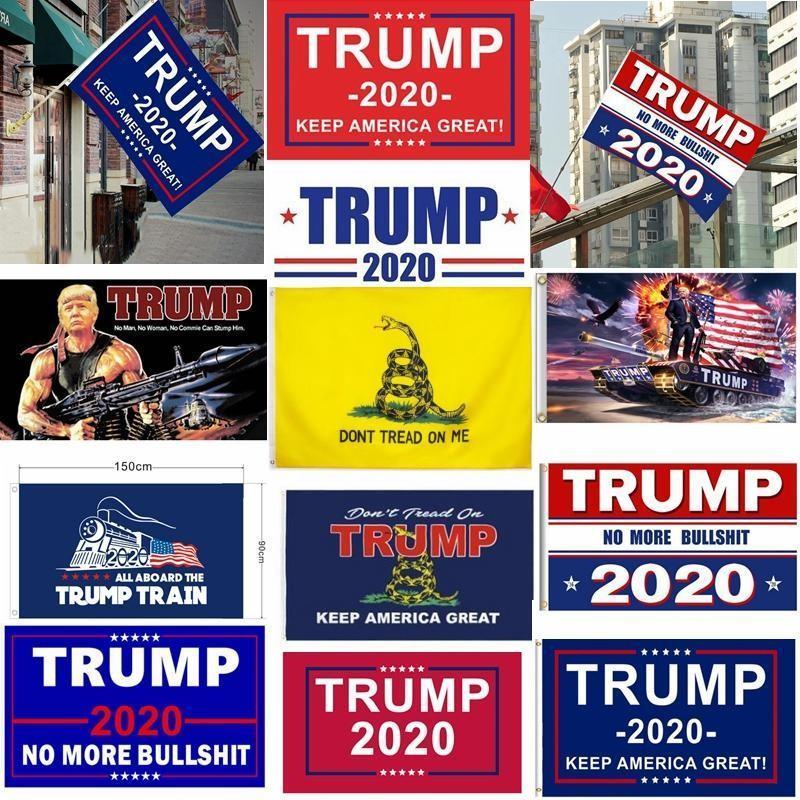 Trump Bayraklar Seçim 3 x 5 Ayaklar 100D Polyester Trump Bayrak Banner Cumhurbaşkanlığı Seçim Banner HHB1600 için Amerika Yüksek, tutun yazdır