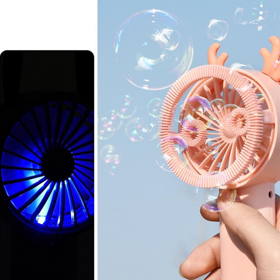 Bubble мини вентилятор Портативный Путешествия Открытый Ручной вентилятор с Night Light Shape Bubble Малый вентилятор партии Фавор OOA8017N