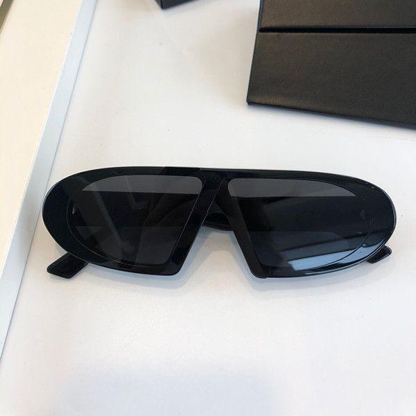 OBLICUO señoras de la manera gafas de sol-vanguardista estilo tendencia marco rectangular gafas UV400 gafas de alta calidad al aire libre de la decoración con la caja
