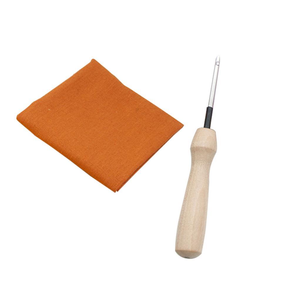 Outils Kit Needlework tissu avec aiguilletée main cadeau broderie accessoires