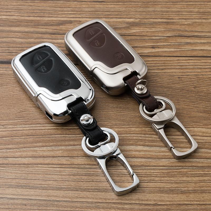 Шкаф для ключа автомобиля для LEXUS RX / LS / LX / GX / GT REGAL INCING Сплавовой ключевой корпус корпуса оболочки