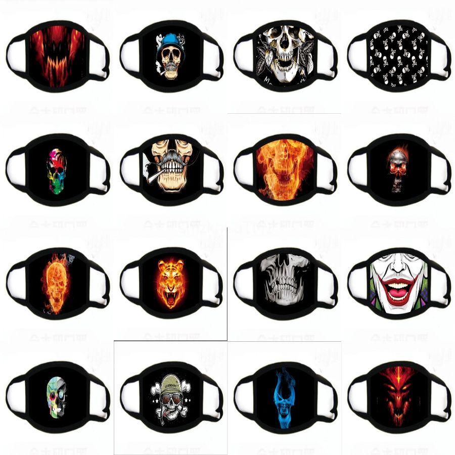 Alloween Partido Lobo máscara máscaras de la mascarada orror divertido impresión del partido del traje de la máscara Todo Ar Decoración # 929