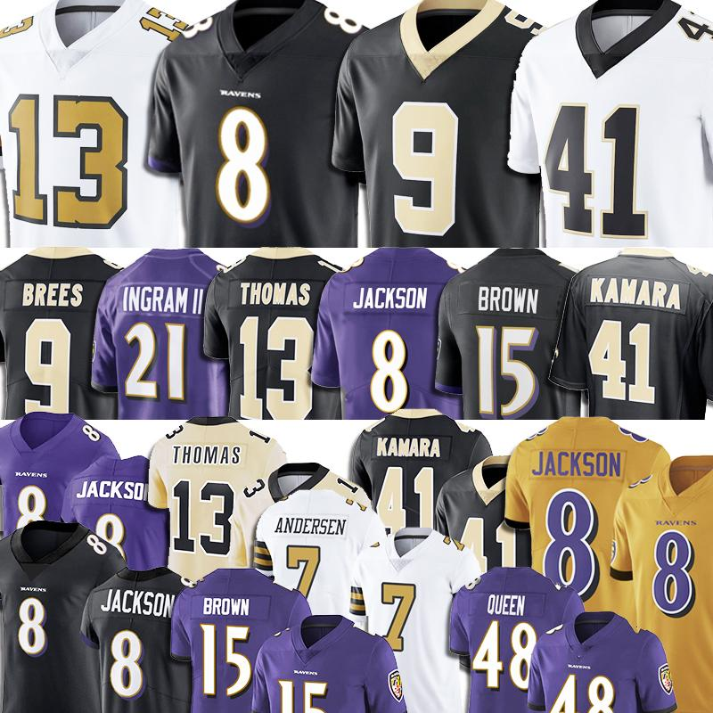 Michael Thomas Lamar Jackson Saints