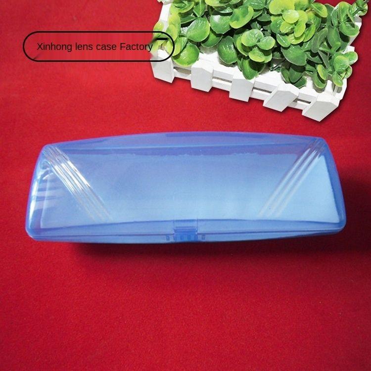 vetri ottici QIyrL PVC colore trasparente unita presbiti plastica cassa plastica di vetro scatolare miopia box