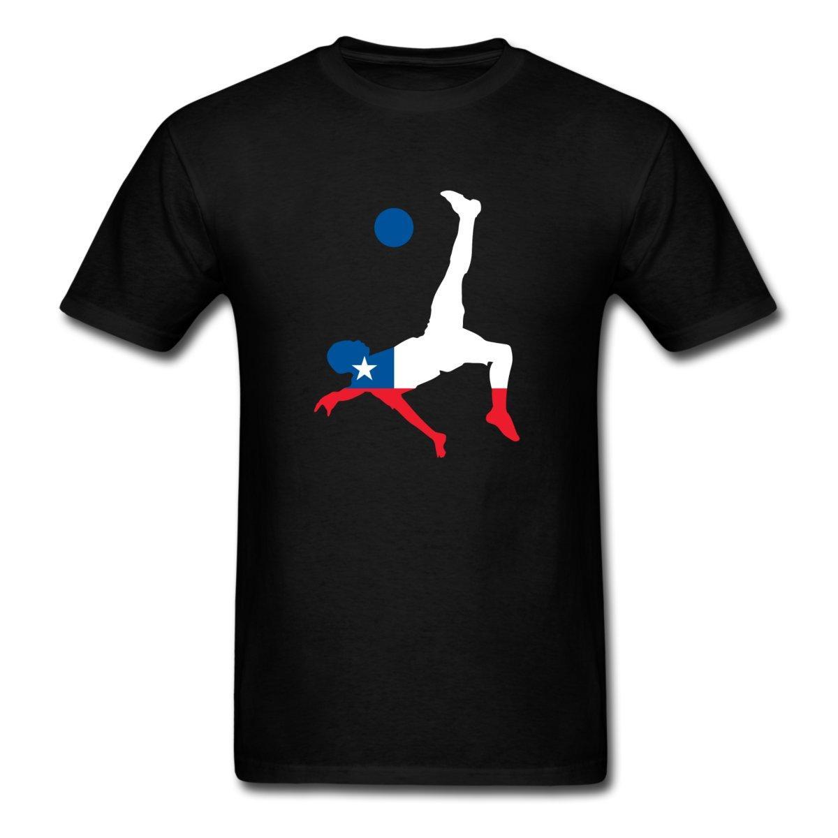 Camiseta clásica de algodón para hombres de cuello redondo soccing EE.UU. hombres de manga corta de manga corta de algodón de la manera envío