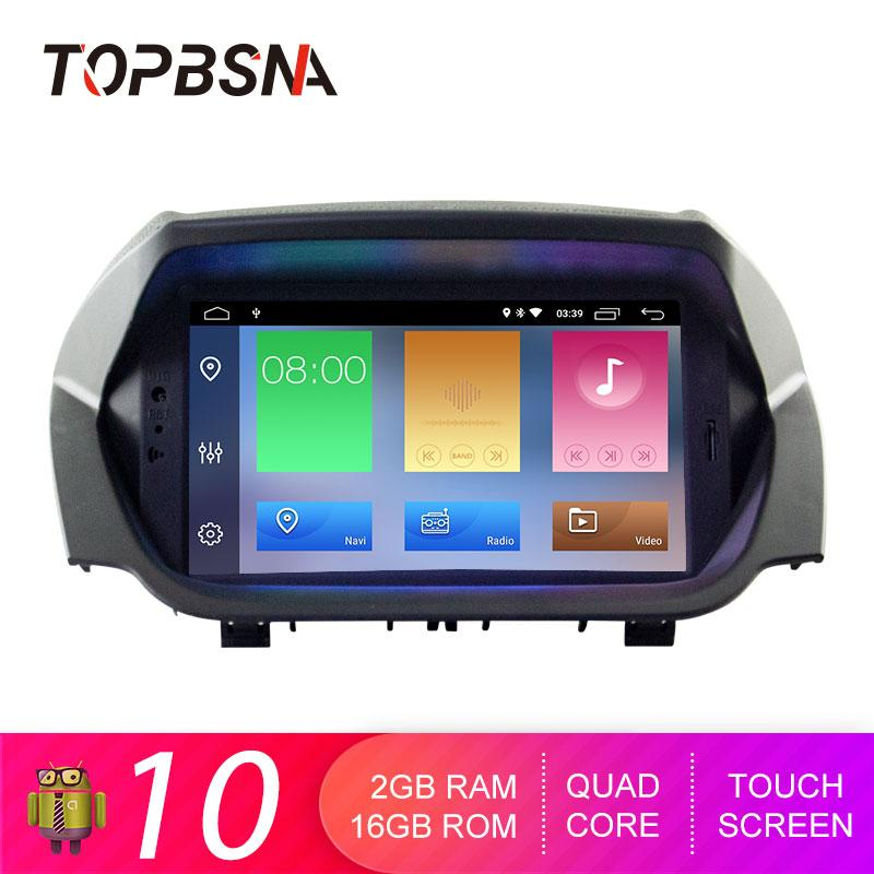 Car Audio TOPBSNA DVD Player Android 10 For Ecosport GPS Navi Multimedia 2 Din Radio Stereo RDS Headunit Auto WIFI Video IPS