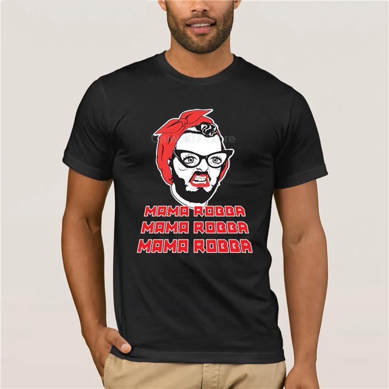 Top T-Shirt Mama Robba Männer Druck beiläufige 100% Baumwoll-T-Shirt Beliebte