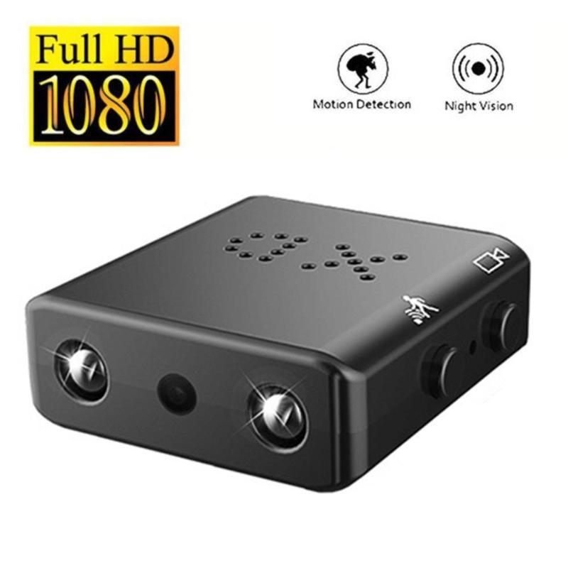 Camera XD Full HD 1080p Mini câmera de 8MP Camcorder Night Vision IR Vigilância Registro Micro Cam Motion Detection DV Segurança