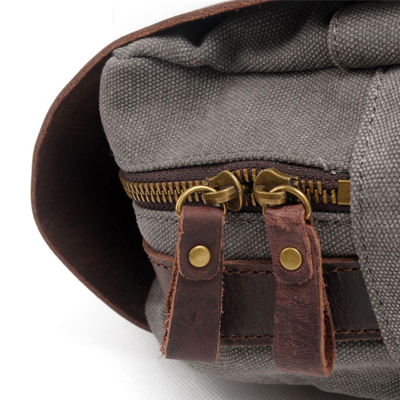 Sports Quality Luxury Vintage High Designer Travel Mens Canvas Moda Mochilas de cuero Gran Bolsa de mochila Casual Real Linkgage Handbag Emhl