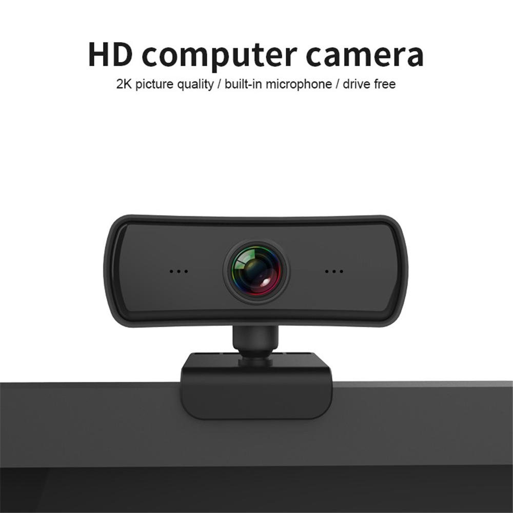 2K 2040*1080P Webcam HD Computer PC WebCamera with Microphone Rotatable Cameras For Live Broadcast Video Calling Conference Work