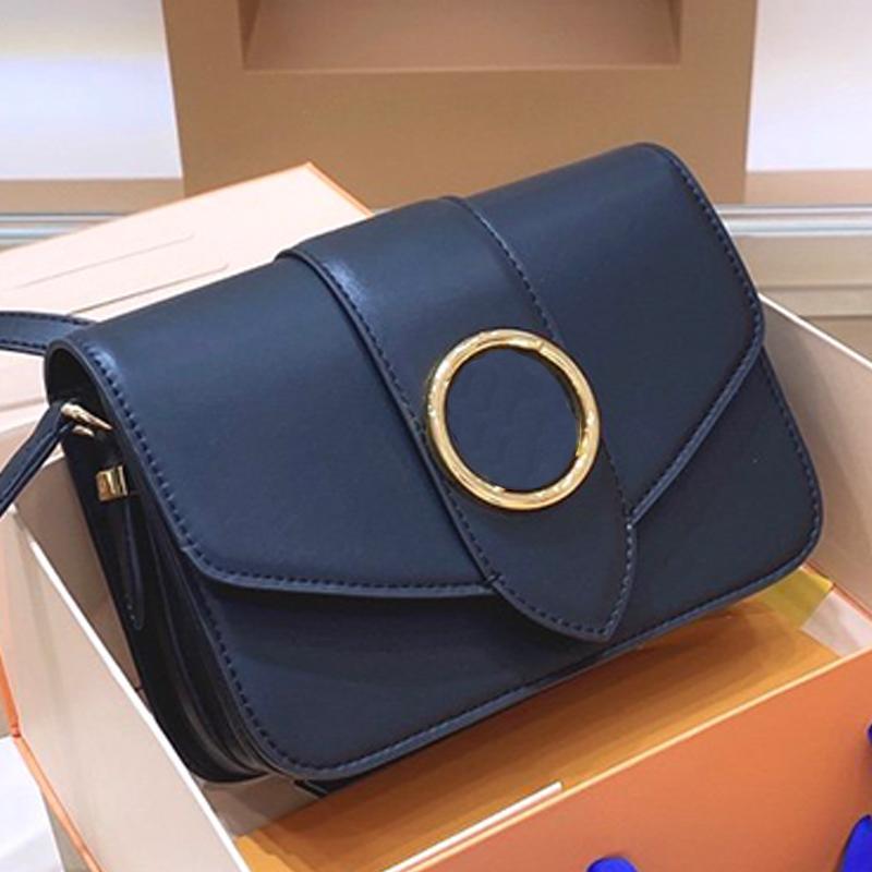 Top Grade Crossbody Bag Purse sacos pequenos Mulheres Shoulder Messenger Bags Leather Oil Retro Elegante Cadeia Moda Pequeno Saco quadrado Bag