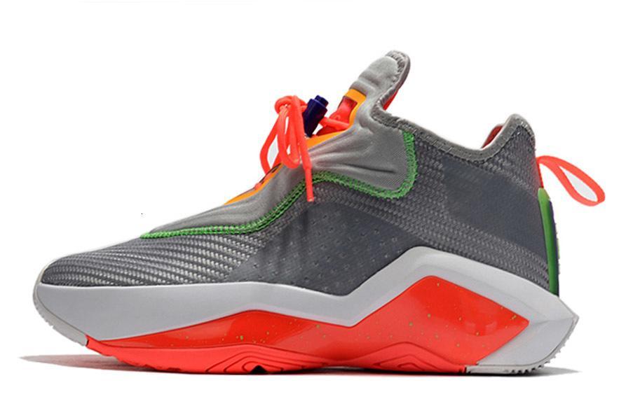 Hare Xiv Ep Kay Yow Soldato Bianco 14 Università Rosso Nero di pallacanestro degli uomini Scarpe 14s del progettista del Mens di sport della scarpa da tennis con la scatola 93re