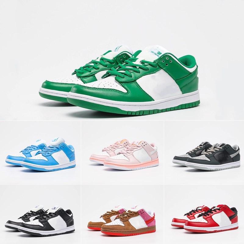 Nave rápida Suave y confortable pies escotado zapatos del patín Dunk Sb para el hombre Deportes diseñadores de zapatos de las mujeres zapatillas de deporte de los zapatos corrientes