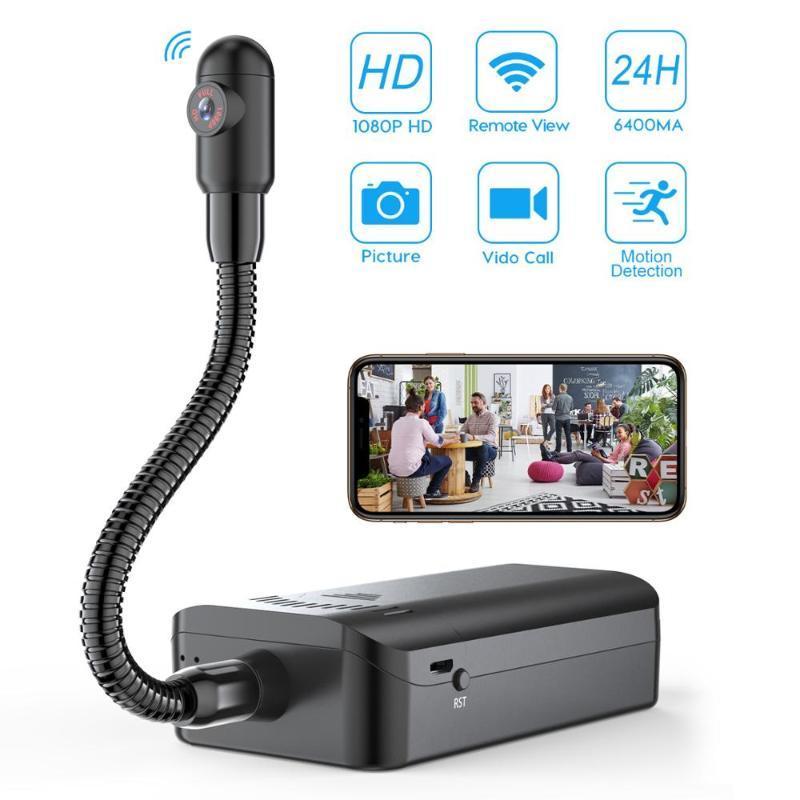 4K HD Wireless DIY Mini Camera Home Security Cameras WiFi Remote monitoring View Camera Nanny Cam Small Recorder Long Standby