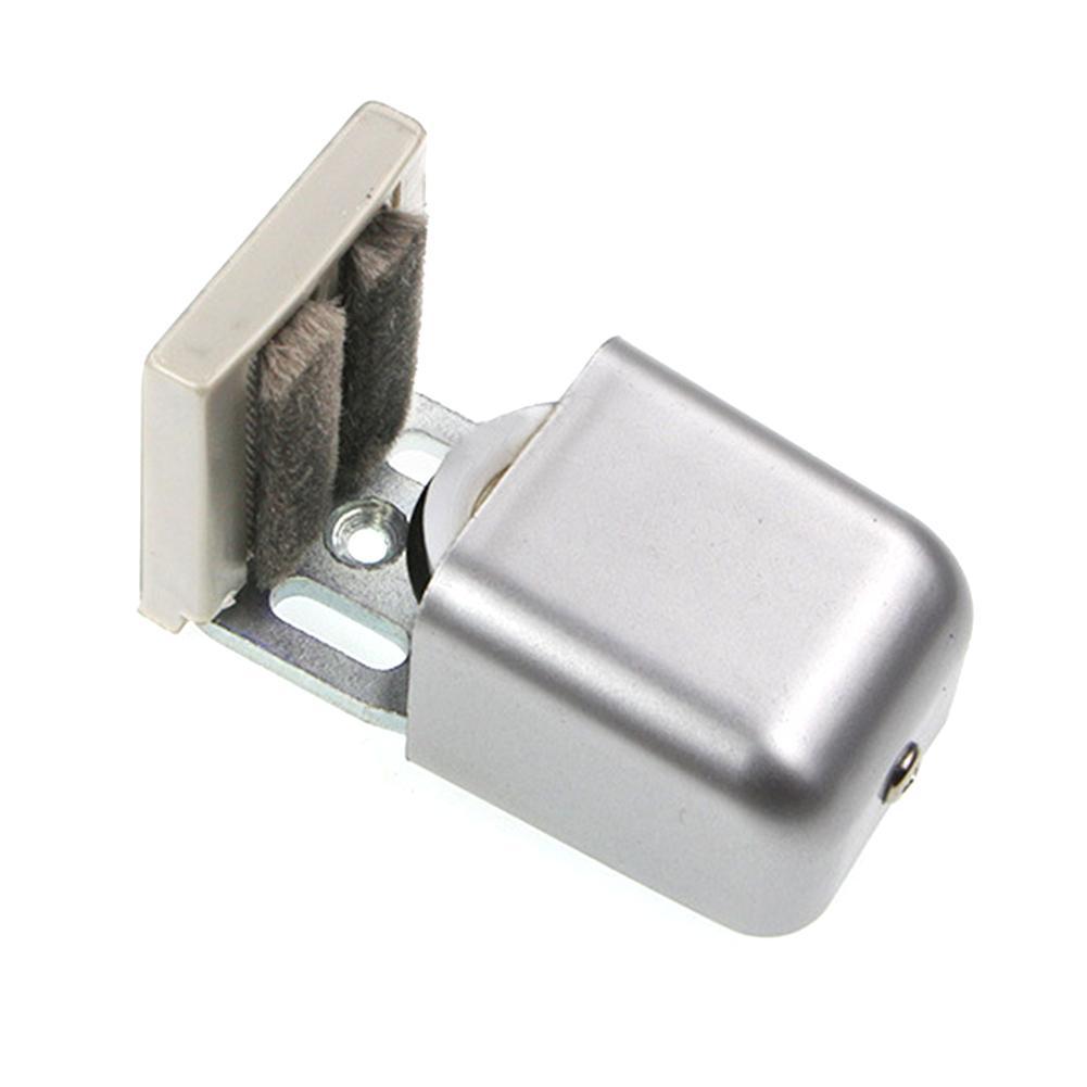 الأجهزة المضادة يتأرجح الطابق دليل الشق انزلاق الباب المسار طول قابل للتعديل