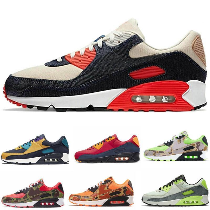 Almofada de Alta Qualidade Homens Mulheres Running Shoes 90 Respirável Ultra Sport Trainers Sapatos Ao Ar Livre Sapatilhas