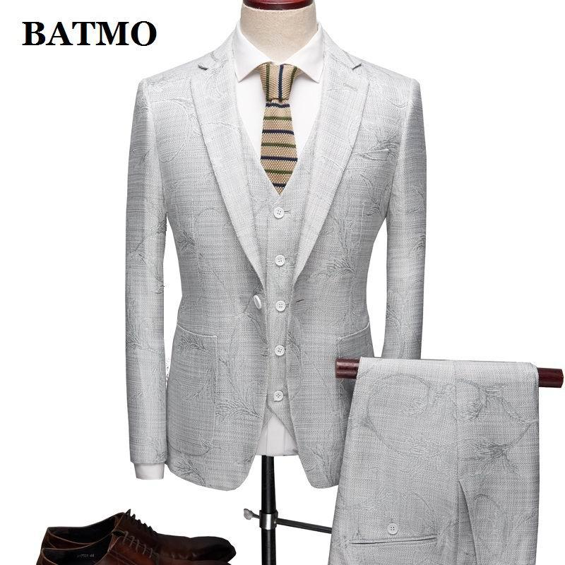 BATMO ropa de 2020 nueva de la llegada alta calidad impresa juegos ocasionales los hombres, vestido de boda de los hombres, de talla grande L-XXXL, 821