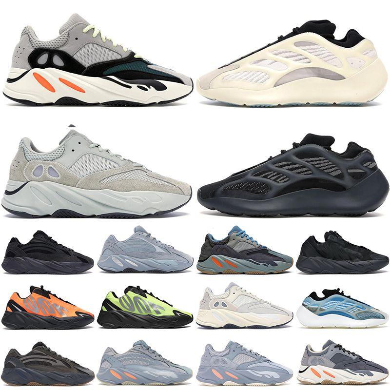 2020 Kanye 700 женщин мужских кроссовок моды тренеров Solid Gray Arzareth Utility Black Azael Vanta Соль Статических мужчины на открытом воздухе кроссовки