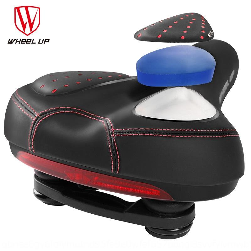 HMlZu WheelUp accessoires coussin vélo VTT siège du siège de selle de silicone vélo en silicone avec feu arrière