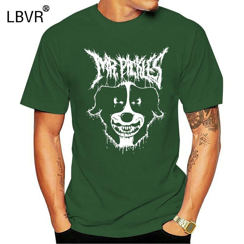 Mr Pickles perro del metal de la muerte Oficial Negro Camiseta Nuevo! (2E2