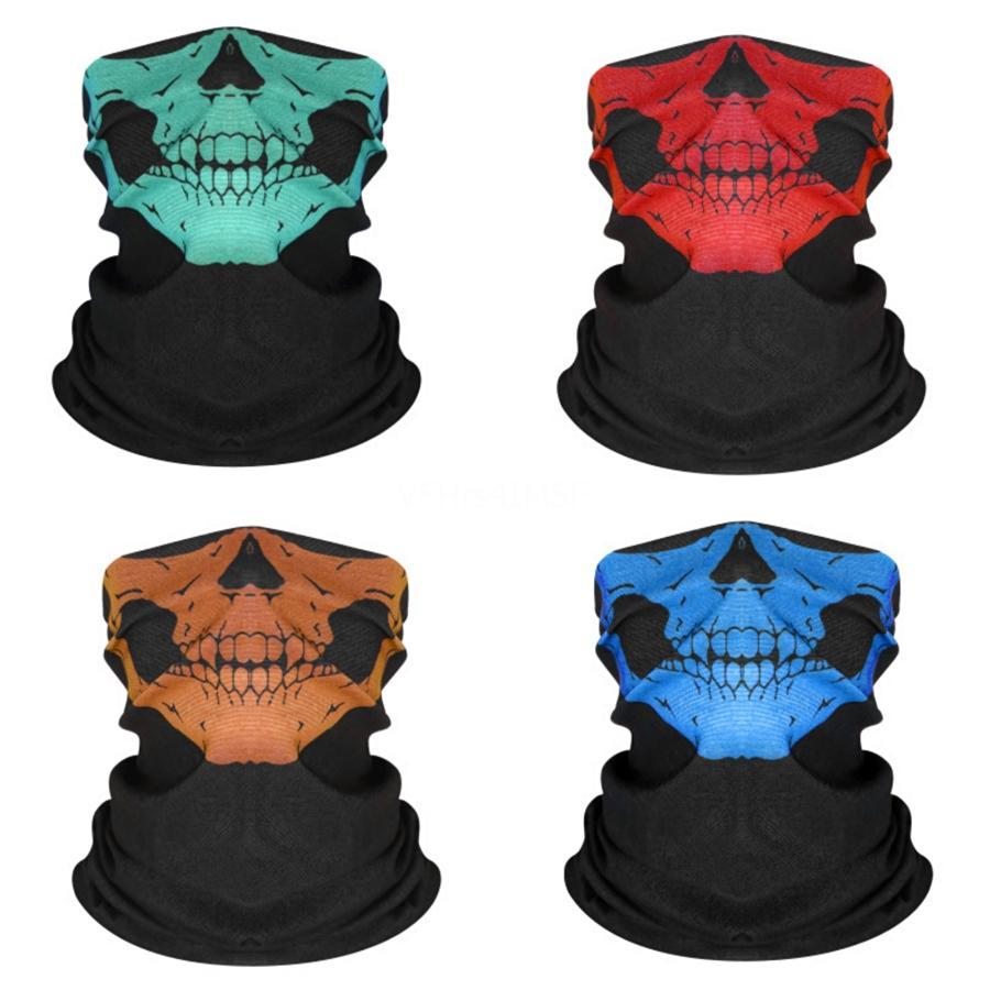 X25U5 2020 Açık Moda Kafatası Eşarp Sıcak Binme Kayak Yüz Sihirli Rüzgar Ve Toz Davlumbazlar # 324 Isınma Maske korumak için Maske