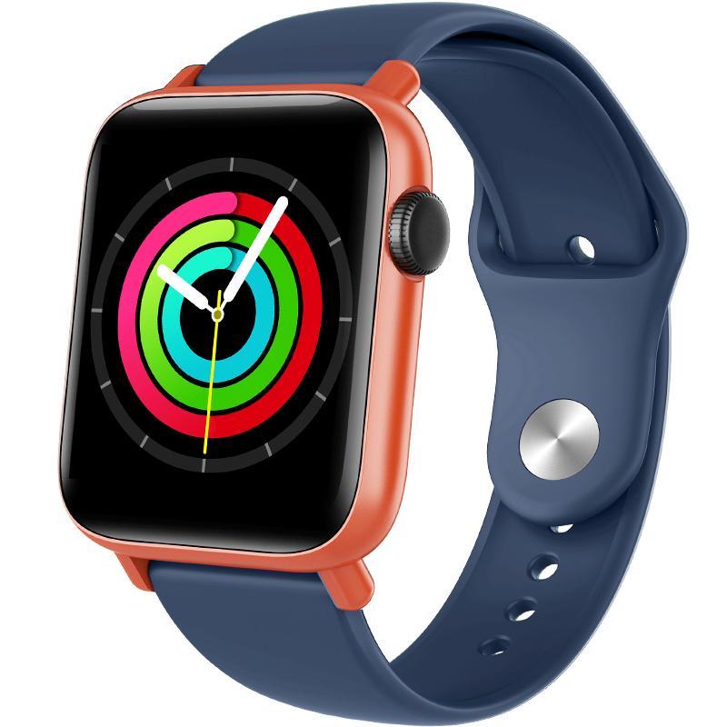 Körpertemperaturüberwachung SMART Watch mit GPS Motion Track Query Full Touchscreen 24h Echtzeit-Herzfrequenz