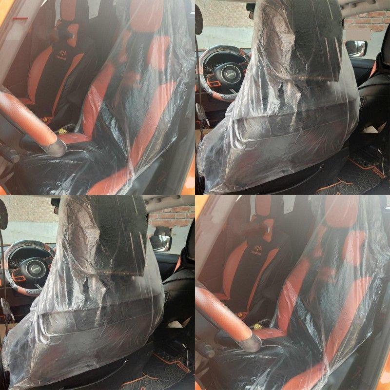 شفافة كرسي السيارة كم المتاح البلاستيك مقاعد السيارات ويغطي مقعد تنظيف السيارات الأكمام الداخلية منتجات التنظيف 0 29kl G19