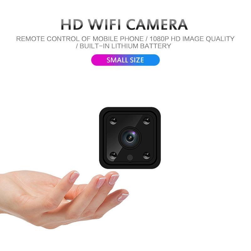 X6 Mini HD камера 1080P видеокамера беспроводной сети WiFi камеры инфракрасного ночного Главная Wi-Fi IP-безопасности