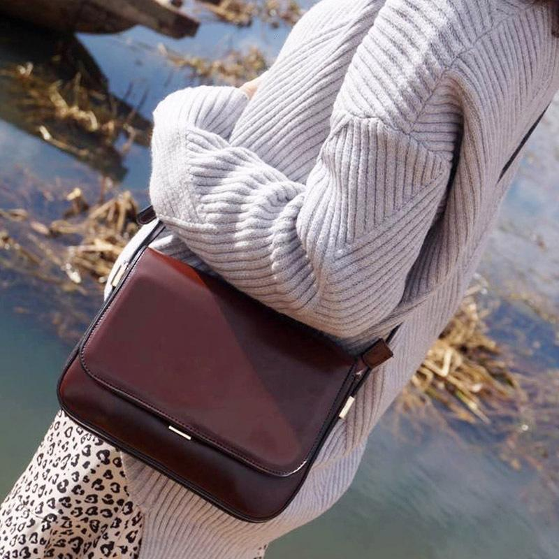 Ranhuang Neue Mädchen Messenger Brief Bolsa 2020 Klappen Taschen Qualität PU Mode Schulter Leder Feminina Hohe Frauen Handtaschen FRADH