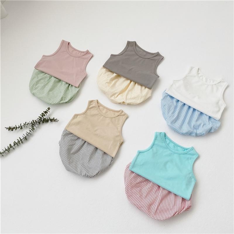 Milancel Baby Girl наряд летние детские мальчики одежда чистый хлопок малыш для девочек одежда детская одежда детская одежда 201126