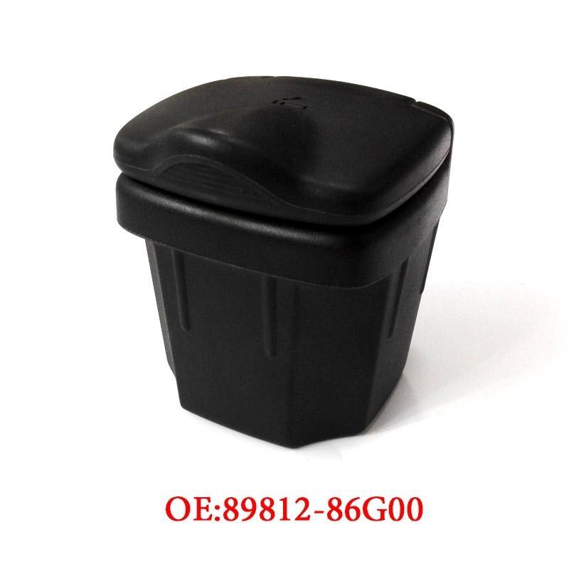 Black Voiture Cendrier Corbeille Cache de stockage Boîtes de cendres Auto Accessoires d'intérieur pour Suzuki Vitara Alto Sx4 Swift S-Croix 2010-2016