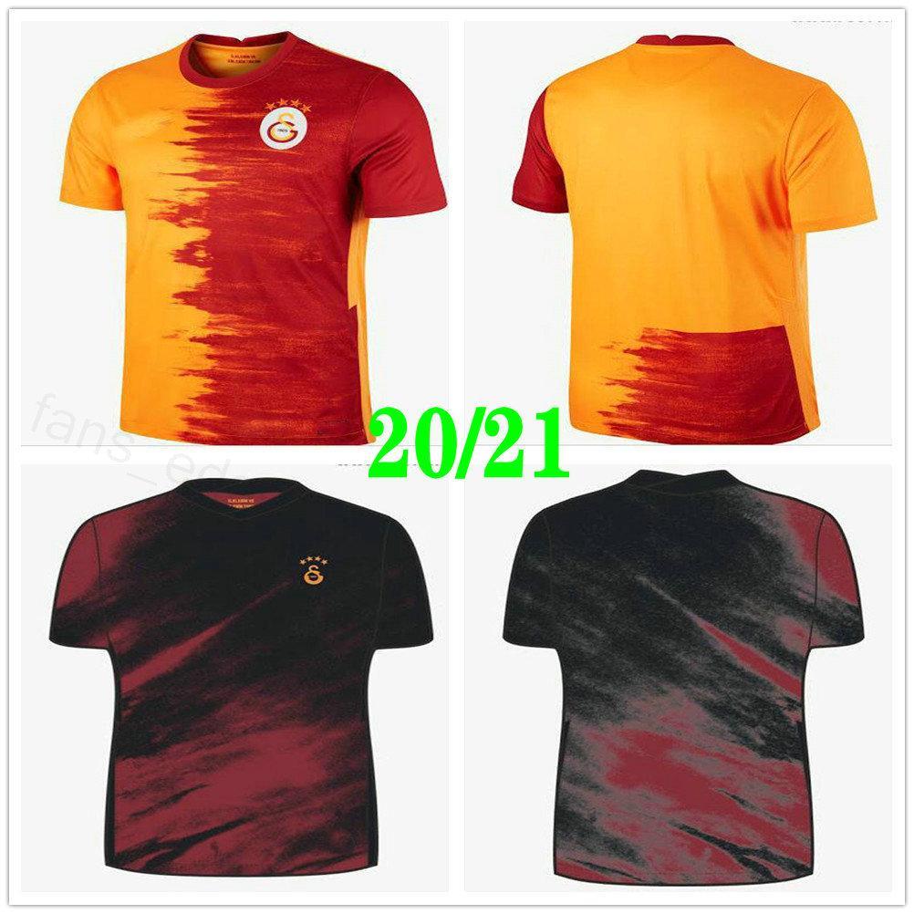 2020 2021 GalatasAray Jersey Jersey Gomis Linnes Cigerci Belhanda Fernando FeGhouli Lemina Diagne Custom Home Aform Adulto Crianças Futebol Camisa